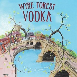 Hinton's Wyre Forest Vodka