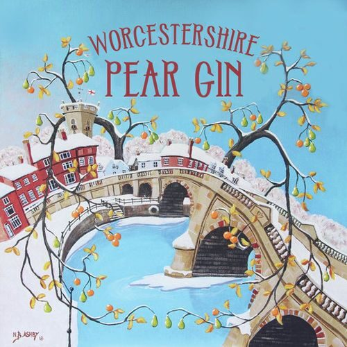 Hinton's Worcestershire Pear Gin